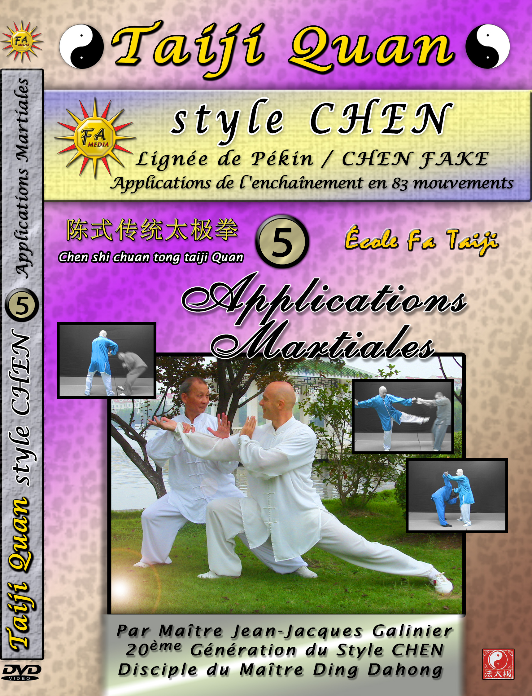 Formation DVD Tai Chi Chuan Style Yang