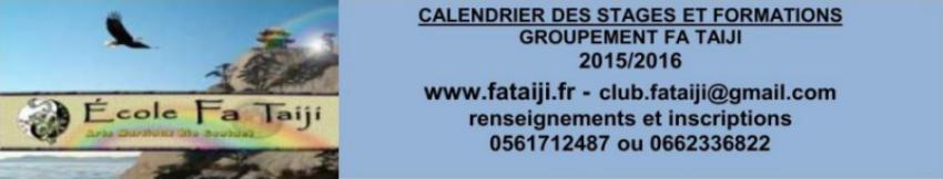 Calendrier contact